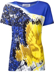 Prabal Gurung Printed T Shirt Blue