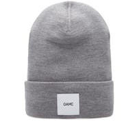 Over All Master Cloth Oamc Logo Watch Cap Grey