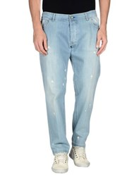 Entre Amis Men Denim Denim Trousers Men
