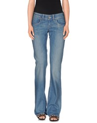 Fornarina Denim Denim Trousers Women Blue