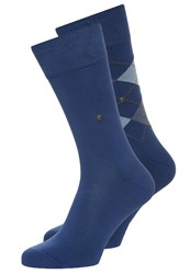 Burlington 2 Pack Socks Royal Blue