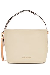 Marc Jacobs Hobo Leather Tote White