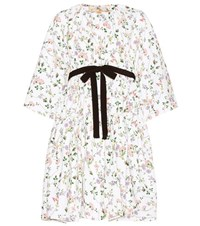Giambattista Valli Printed Dress White