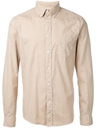 Gant Rugger Dreamy Oxford Hobd Shirt Men Cotton L Nude Neutrals