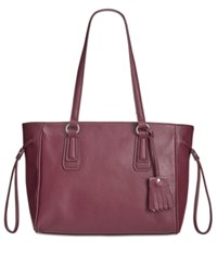 Giani Bernini Kilty Tote Only At Macy's Wine