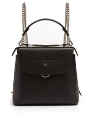 Fendi Back To School Mini Leather Backpack Black