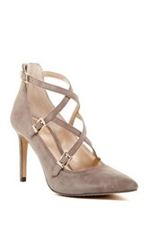 Vince Camuto Neddy Pointy Toe Pump Brown