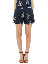 Ted Baker Entangled Enchantment Anthia Shorts Dark Blue