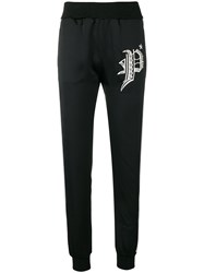 Philipp Plein Let Love Down Jogging Bottoms Black