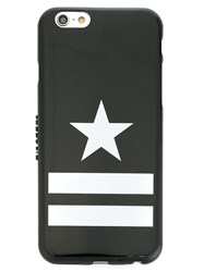 Givenchy Star And Stripe Print Iphone 6 Case Black