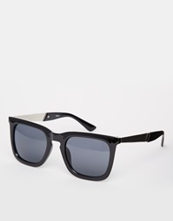 A. J. Morgan Aj Morgan Square Top Wayfarer Sunglasses Black