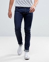Edwin Ed 85 Slim Tapered Drop Crotch Jean Rinsed Wash Rinsed Blue