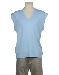 Balio Sweater Vests Sky Blue