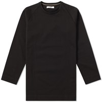 Edifice Long Sleeve Raglan Tee Black