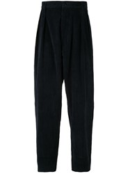 E. Tautz Ribbed Tapered Trousers 60