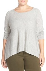 Plus Size Women's Eileen Fisher Cashmere Bateau Neck Sweater