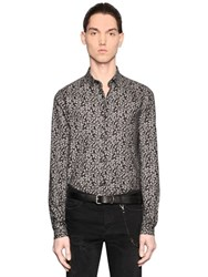 The Kooples Ivy Print Light Cotton Flannel Shirt