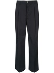 Loveless Wide Leg Trousers Blue
