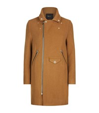 Maje Garius Coat Female Camel