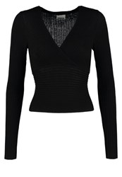 Noisy May Nmlook Jumper Black