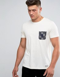 Element Printed Pocket T Shirt White