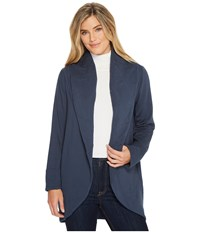 B Collection By Bobeau Peri Jacket Navy Women's Coat