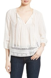 Joie Women's Ora Cotton Peasant Top