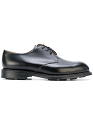 Church's Lace Up Shoes Men Calf Leather Leather Rubber 7 Black