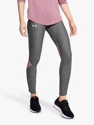 Under Armour Fly Fast Running Leggings Grey Pink