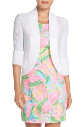 Women's Lilly Pulitzer 'Mae' Open Front Cardigan
