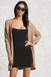 Forever 21 Cocoon Open Front Cardigan