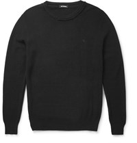 Raf Simons Pima Cotton Sweater Black