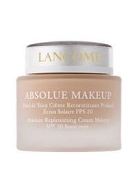 Lancome Absolue Makeup Absolute Replenishing Cream Makeup Spf 20 Bright Yellow