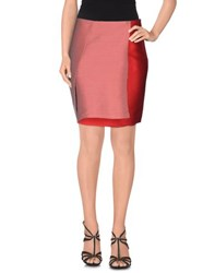 Chalayan Skirts Knee Length Skirts Women Red