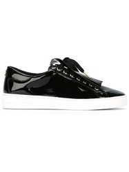 Michael Michael Kors Fringe Detail Slip On Sneakers Black