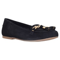 Kg By Kurt Geiger Lincoln Suede Tassel Moccasin Loafers Black