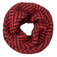 The North Circular Red Furze Snood Red Black