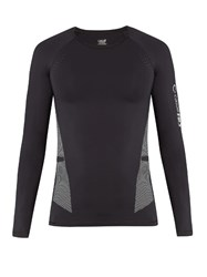 Casall M Hit Prime Long Sleeved Performance T Shirt Black