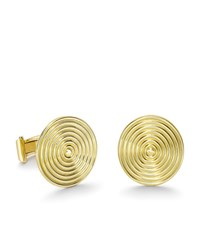 Theo Fennell Gold Whip Disc Cufflinks Female