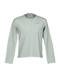 Descente T Shirts Light Grey