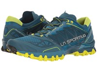 La Sportiva Bushido Ocean Sulphur Men's Running Shoes Blue