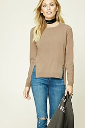 Forever 21 Contemporary Side Vent Sweater