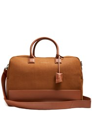 Want Les Essentiels Douglas Suede Holdall Brown