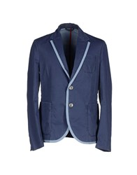 Ice Iceberg Suits And Jackets Blazers Men Slate Blue