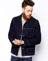 Lee Jeans Overall Jacket Blue