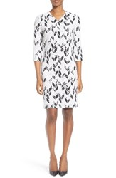 Boss Women's Disuna Print Sheath Dress