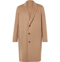 Acne Studios Charles Wool And Cashmere Blend Overcoat Brown