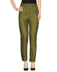 Tela Trousers Casual Trousers Women Green