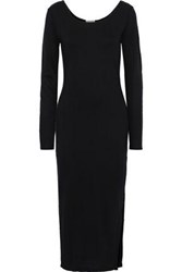 Charli Woman Knitted Midi Dress Black