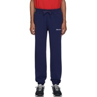 Aime Leon Dore Navy Terry Logo Lounge Pants